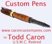 Custom Pens by Todd Caron